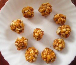 Sweet peanut balls recipe | കപ്പലണ്ടി മിഠായി recipe
