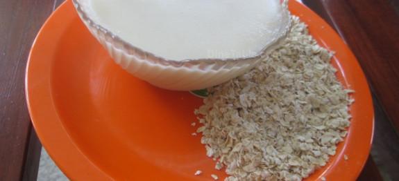 How to make homemade Oatmeal for babies   Oats Kurukku recipe