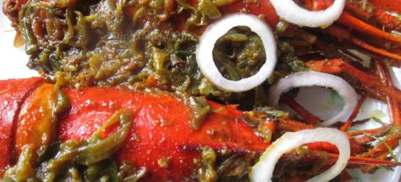 Roasted jumbo prawns recipe