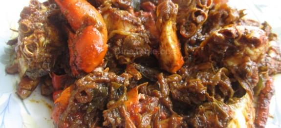 Roasted crab recipe