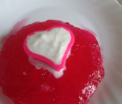 Strawberry Jelly With Vanilla Ice Cream recipe | Valentines day special recipe