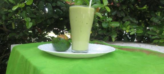 Avocado Green Tea Power Shake Recipe