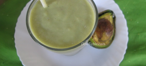 Avocado Green Tea Power Shake Recipe