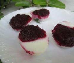 Beet Deviled Eggs Recipe | Easter Special Recipe