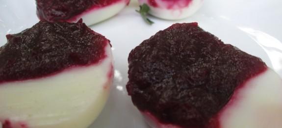 Beet Deviled Eggs Recipe   Easter Special Recipe