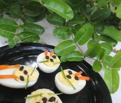 Bunny Deviled Eggs Recipe | Easter Special Recipe