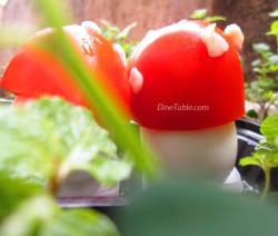 Mushroom Shaped Deviled Eggs Recipe | Easter Recipe
