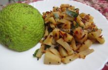 Kadachakka Mezhukkupuratti Recipe | കടച്ചക്ക ഉപ്പേരി | Kerala Recipe