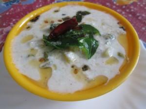 Pacha Manga Pachadi Recipe - പച്ച മാങ്ങ പച്ചടി - Vishu Special Recipe