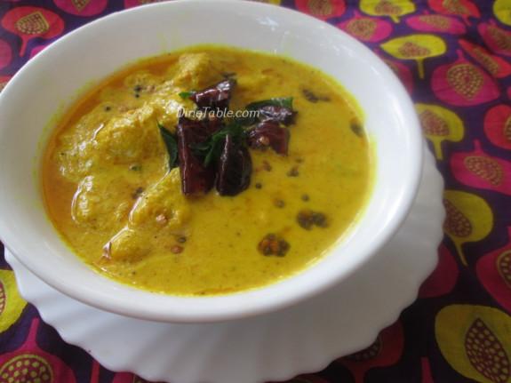 Pazham Pulissery Recipe | പഴം പുളിശേ്ശരി | Kerala Recipe