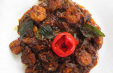 Prawns Roast Recipe - ചെമ്മീൻ റോസ്റ്റ് - Seafood Recipe