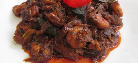 Prawns Roast Recipe - ചെമ്മീൻ റോസ്റ്റ് - Non Vegetarian Recipe