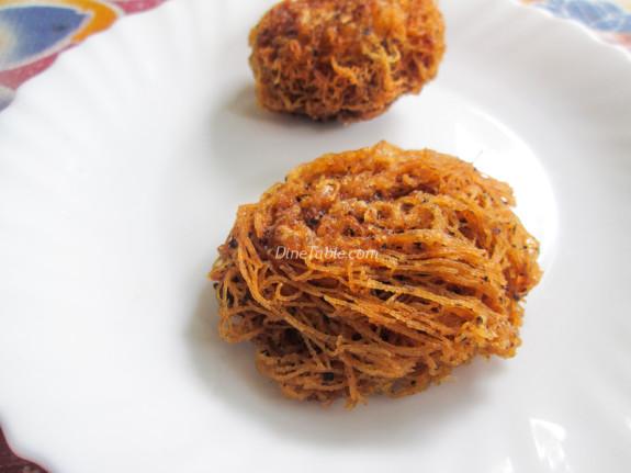 Fried Idiyappam Recipe - പൊരിച്ച ഇടിയപ്പം - Ramadan Special - Healthy Recipe