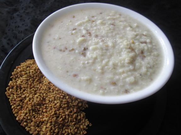 Uluva Kanji Recipe | ഉലുവ കഞ്ഞി | Healthy Recipe