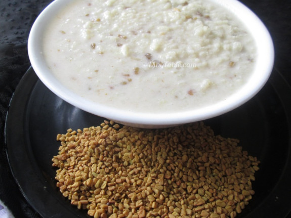 Uluva Kanji Recipe | ഉലുവ കഞ്ഞി | Vegetarian Recipe