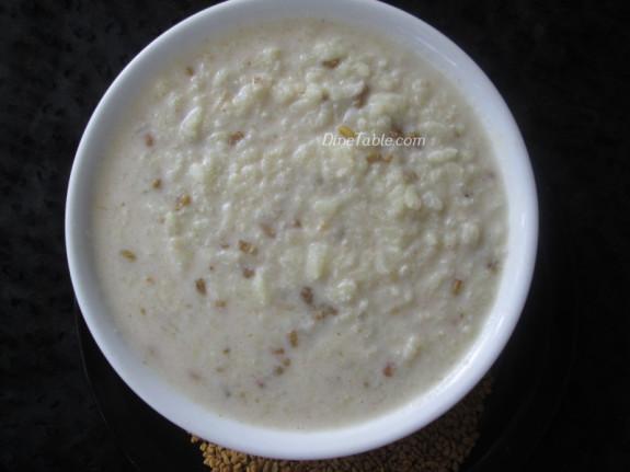 Uluva Kanji Recipe | ഉലുവ കഞ്ഞി | Porridge Recipe