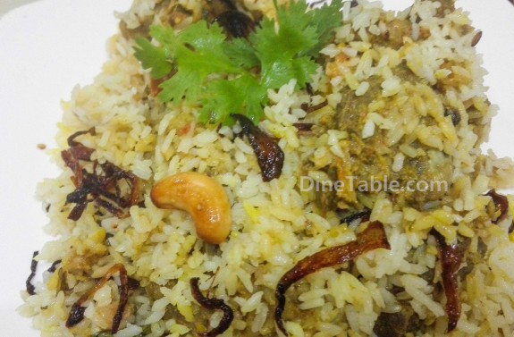Mutton Biryani Recipe – Simple Kerala Style Mutton Biriyani – മട്ടന്‍ ബിരിയാണി
