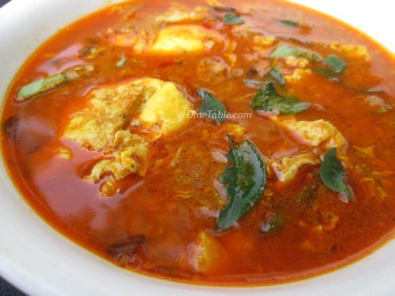Poached Egg Curry Recipe | വറുത്തരച്ച മുട്ടക്കറി | Homemade Recipe