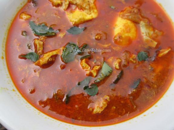 Poached Egg Curry Recipe | വറുത്തരച്ച മുട്ടക്കറി | Kerala Recipe