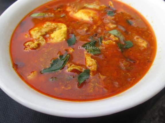 Poached Egg Curry Recipe | വറുത്തരച്ച മുട്ടക്കറി | Tasty Egg Curry