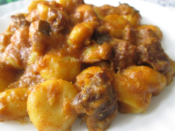 Aana Pathal Recipe - Irachi Pidi Recipe - Ramazan Special - Kerala Recipe