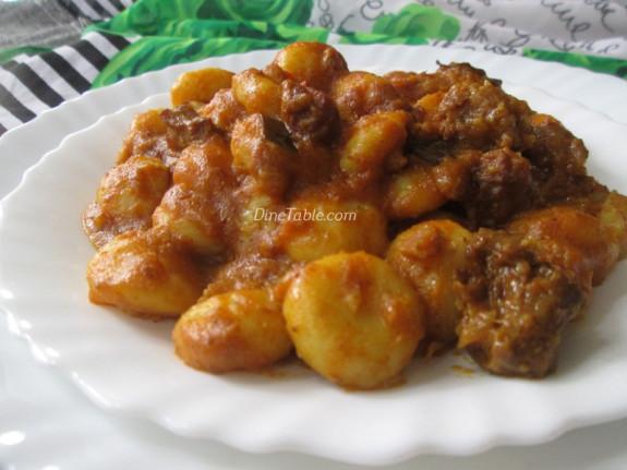 Aana Pathal Recipe - Irachi Pidi Recipe - Ramazan Special - Malabar Recipe