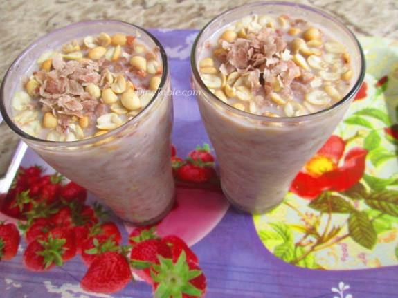Avil Milk Recipe - അവില് മില്ക്ക് - Ramadan Special - Beverage Recipe