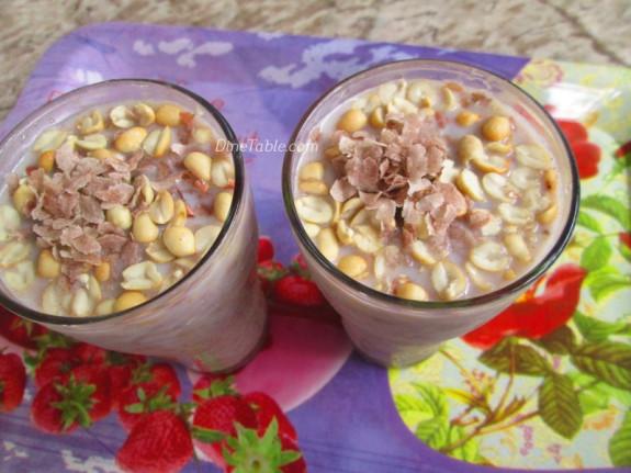 Avil Milk Recipe - അവില് മില്ക്ക് - Ramadan Special - Malabar Recipe