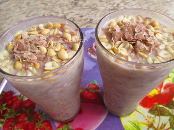 Avil Milk Recipe - അവില് മില്ക്ക് - Ramadan Special - Healthy Recipe