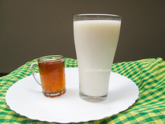 Milk Sarbath Recipe - Paal Sarbath - പാൽ സർബത്ത് - Ramadan Recipe