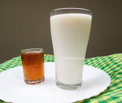 Milk Sarbath Recipe - Paal Sarbath - പാൽ സർബത്ത് - Juice Recipe