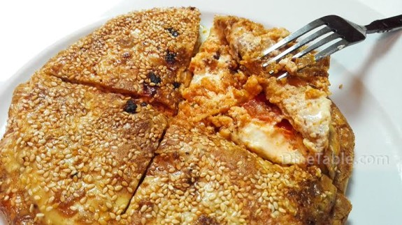 Paneer Stuffed Pancake Recipe - Ramadan Snack Recipe - Kids Recipe