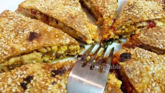 Paneer Stuffed Pancake Recipe - Ramadan Snack Recipe - Starter Recipe