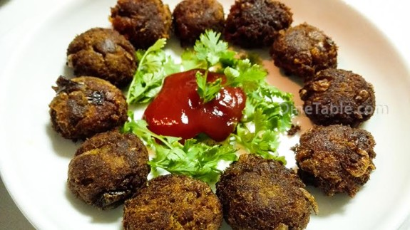 Soya Kabab Balls Recipe - Ramadan Healthy Snack - Kids Recipe