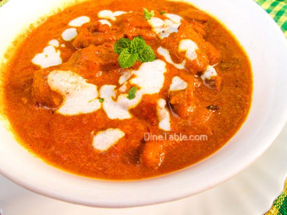 Homemade Butter Chicken Recipe - Ramadan Special Recipe - Non Vegetarian Recipe