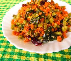 Carrot Beans Thoran Recipe / Tasty Dish