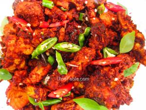 Kerala Style Chicken Fry Recipe - കേരള ചിക്കൻ ഫ്രൈ - Spicy Recipe