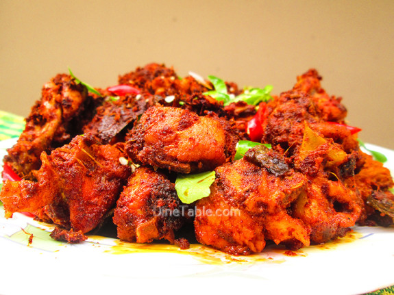 Kerala Style Chicken Fry Recipe - കേരള ചിക്കൻ ഫ്രൈ - Traditional Recipe
