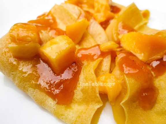 Mango Crepes Recipe - Ramadan Recipe - Simple Recipe - Tasty Recipe