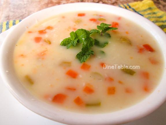 Ramdan Special Nombu Kanji Recipe - നോമ്പ് കഞ്ഞി - Vegetarian Recipe