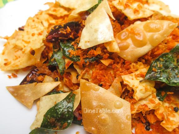 Pappadam Thoran Recipe - പപ്പടം തോരൻ - Homemade Recipe