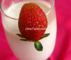 Strawberry Milk Shake Recipe - Simple Recipe - Tasty Recipe