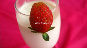 Strawberry Milk Shake Recipe - Simple Recipe - Tasty Recipe