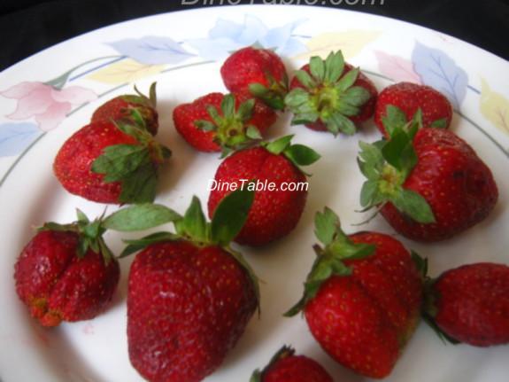 Strawberry Milk Shake Recipe - Simple Recipe - Beverage Recipe