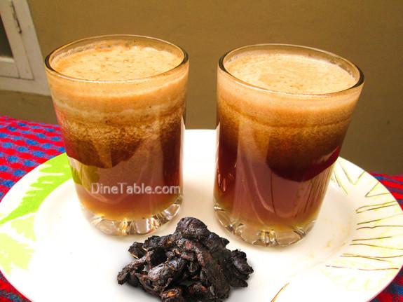 Sweet Tamarind Drink Recipe - Ramadan Juice Recipe - Refreshing Drink Recipe