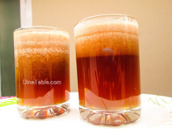 Sweet Tamarind Drink Recipe - Ramadan Juice Recipe - Homemade Recipe