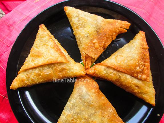 Beef Samosa Recipe / Homemade Snack