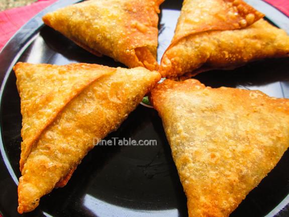 Beef Samosa Recipe - Homemade Snack Recipe - Indian Recipe