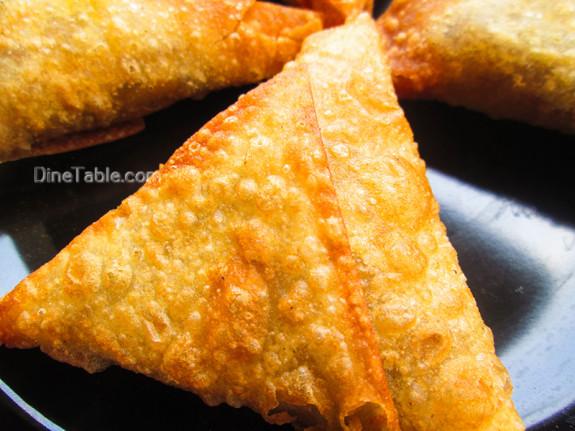 Beef Samosa Recipe - Homemade Snack Recipe - Delicious Recipe