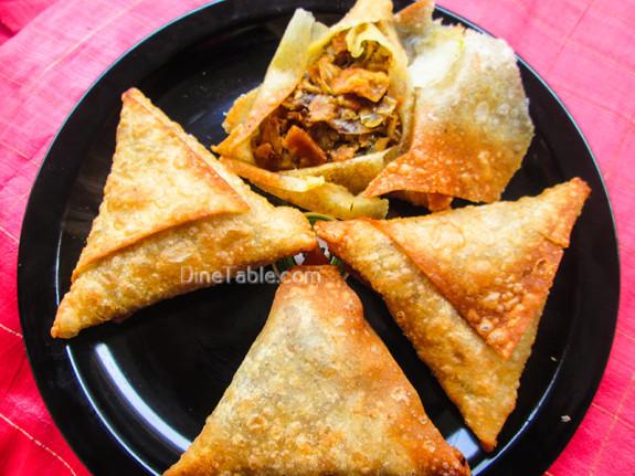 Beef Samosa Recipe / Nonvegetarian